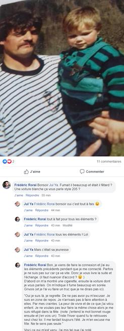Message Jean Louis défunt à sa fille