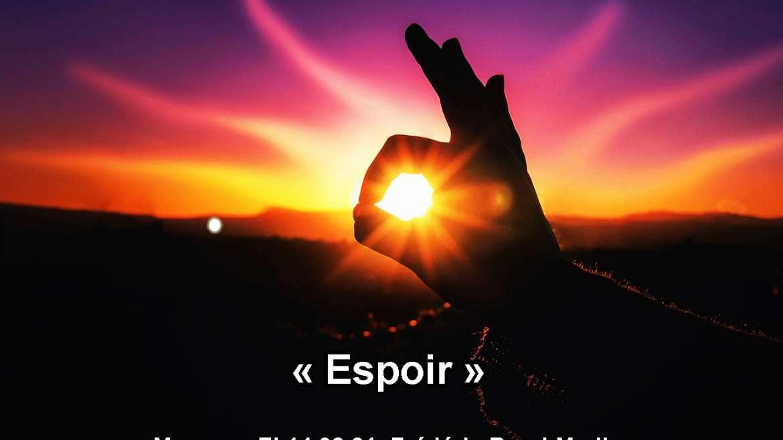 « Espoir » 14.02.21